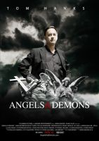 Angels and DEMONS POSTER 2 by onurb-design