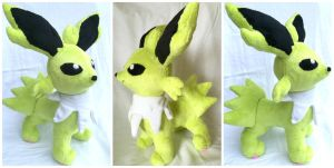 Shiny Jolteon Plush by LovingMissMuse
