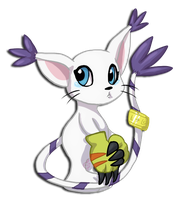 Gatomon by MizAmy