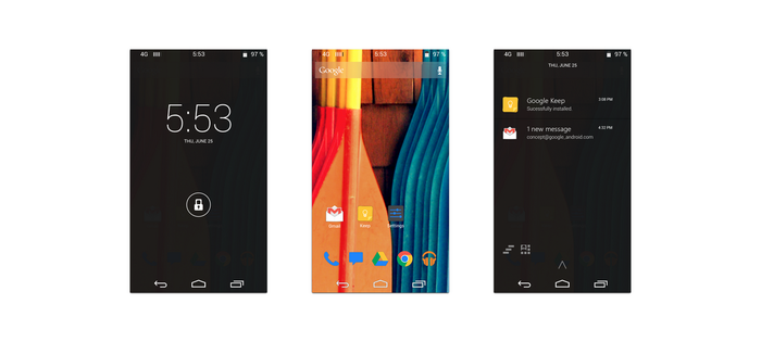 Android 5 Preview by nik255