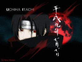 Itachi-wallpaper second by kullermausi