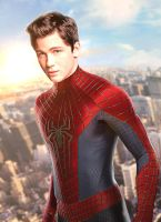 Logan Lerman as MCU's Spider-man by Timetravel6000v2