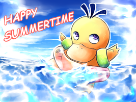 Happy Summertime by Co0kie-Cat