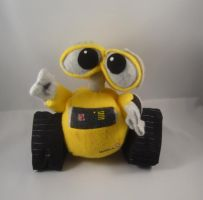 6 inch Wall-E plush commission by pandari