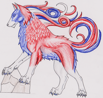 Democracy wolfie by MagicallyCapricious