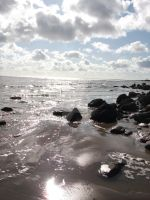 Llansteffan Beach1 by HeatherPerrin