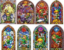the zelda windows by im-with-no-name