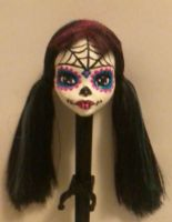 Second Sugar Skull Inspired Repaint by michelleann31
