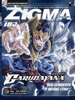 Gatotkaca Cover ZIGMA mei 2011 by vanguard-zero