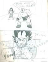 95 squared? Vegeta knows.... by Xancholis