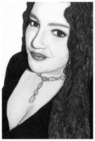 Self Portrait - Pencil by Obey-Your-Muse