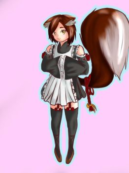 Cat Maid by D7xBLCH