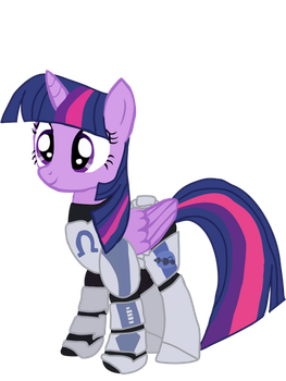 Twilight sparkle as Echo (Alicorn) by Ripped-ntripps