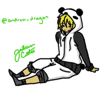Panda Dude request by gigiluvikuto