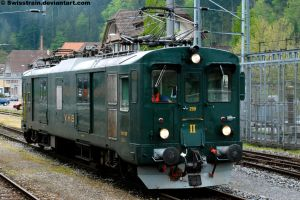 VHB De 4-4 No.259 by SwissTrain