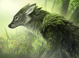 Swamp Wolf by animalartist16