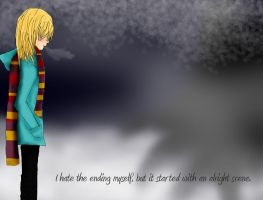 A sad song, with nothing to say. by Clockworkbirds