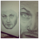 WIP Jensen Ackles by MonalisaBorges