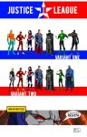 The DC Project: Justice League (founding members) by huatist