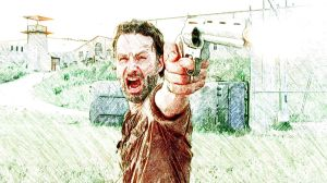 Rick and his Pistol by Giannitoarlie