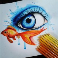 Fishy eyesplash! by Tezzy98