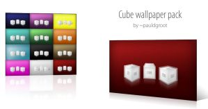 CUBE wallpaper pack by pauldgroot