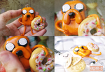 Jack adventure time polymer clay by hasar-d