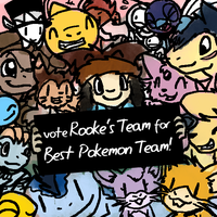 Nuzlocke Nominations 2014 - NuzRooke, Best Team by DragonwolfRooke