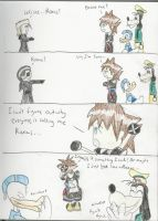 Sora, Not Roxas by Roxas4ever