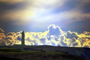 Lighthouse for clouds by titoune33