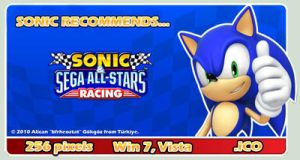 Sonic All-Stars Racing Icon by bfrheostat