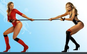 Stacy Keibler Widescreen by CigsAce