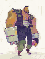 Barret by michaelfirman