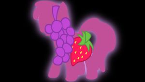 Berry Punch wallpaper by Coall
