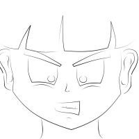 Gohan in Anger by Stone-Cold-Stone
