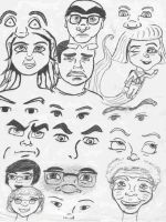 17 pairs eyes and more by Brady-Kj