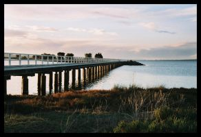 Australind jetty sunset 4 by wildplaces