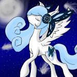 Wishing upon a star :Gift: by Paws-the-snowleopard