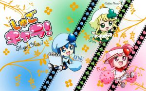 Wallpaper Shugo Chara by SilveryLugia
