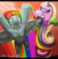 Double Rainbow by WillowEscapee