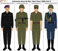 Indonesian Army On War East Timor 1990s Part 2 by ComradeMarshal