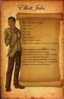 Character Sheet Elliott Jules by shafry