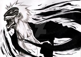 Bleach- The black mask by Marghe-chan