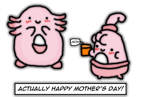 Actually happy mother's day by thegamingdrawer