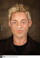 what would will smith look like if he was white by CharlestheComicArtis