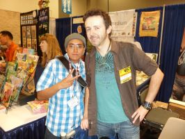 Me and J Scott Campbell Wondercon 2012 by SWAVE18