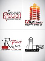 royal tower LOGO 2 by ReemElhwtk
