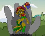 Mayan Marge Sacrificed by Homey104