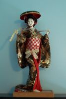 Vintage Japanese doll stock 1 by jojostock