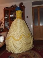 W.I.P - Beauty and the Beast - Belle's Gown by Athora-x